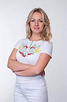 Жіночі футболки з вишивкою