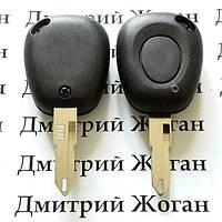 Корпус ключа для  Renault Laguna  (Рено Лагуна) 1 - кнопка, лезвие NE73