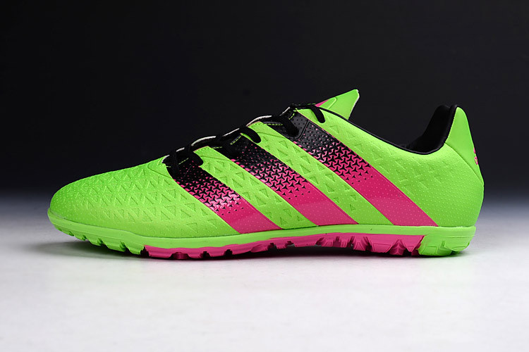 Футбольные сороконожки adidas ACE II 15.1 TF Solar Green/Shock Pink/Core Black
