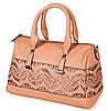 Интригующая классическая сумка женская искусственная кожа Bretton D-728-3 pink