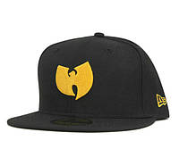 Кепка New Era Wu-Tang Snapback Black-Yellow