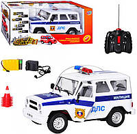 Машина на радиоуправлении Уазик ДПС Joy Toy 9126-5
