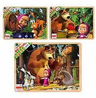 Деревянная игрушка Рамка-вкладыш Woody GT6019