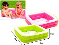 Детский надувной бассейн-песочница INTEX 57100 (2 цвета)