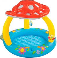 Детский надувной бассейн с навесом-грибок Intex (57407)