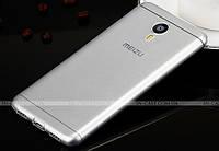 TPU чехол Fulltao для Meizu M3 Note Transparent + пленка
