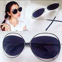 Необычные и стильные женские солнцезащитные очки y-4316242