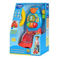 Музыкальная игрушка-каталка Пылесос VTech 123003