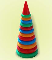 Детская игрушка Пирамидка № 3 Бамсик 19