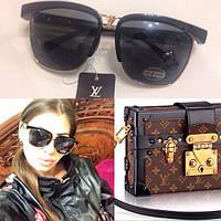 Женские стильные солнцезащитные очки с необычной оправой p-4316246