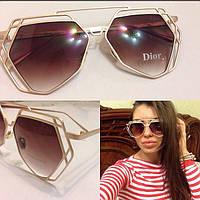 Женские молодежные солнцезащитные очки с необычной оправой a-4316247