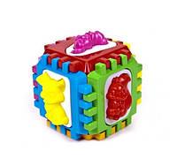 Логический куб-сортер с вкладышами Kinder Way 50-001