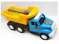 Машина Дампер Самосвал с лопаткой и граблями без механизма Kinder Way 13-001-80