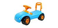 Машинка для катания МЕРСИК голубая ОРИОН 16