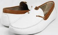 Roberto Cavalli мужские туфли, белые, 45 р. Мокасины