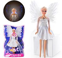 Детская кукла Defa 8219  Ангел со светящимися крыльями