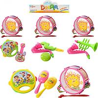 Набор детских музыкальных инструментов (782-2-5-6-7)