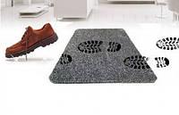 Супервпитывающий дверной коврик Clean Step Mat