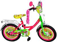 "Велосипед детский мульт 20"" P2051F-B (1шт) Бабочка, кисточки на руле"
