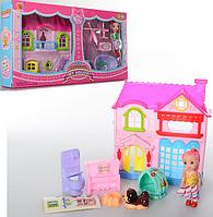 """Игровой набор """"Кукольный домик"""" 8095-6 (2 вида)"""
