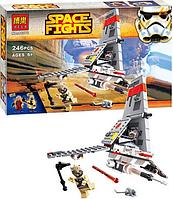 """Конструктор """"Космолет"""" Star Wars Bela 10372 (246 деталей)"""