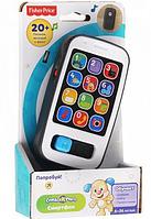 """Интерактивная игрушка """"Умный смартфон"""" Fisher-Price (укр-англ)"""