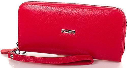 Аккуратный модный женский кожаный кошелек Desisan Артикул: SH075-1 красный