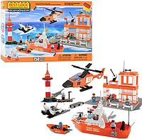 """Конструктор """"Береговая охрана"""" 07523 EF Best-Lock (750 деталей)"""