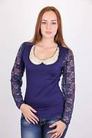 Красивая женская блуза с воротником, фото 1