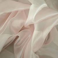 Тюль микровуаль (муар), св. розовый