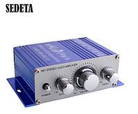 Автомобильный усилитель мощности звука стерео 12В