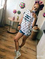 Блузка летняя женская футболка