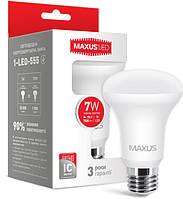 Светодиодная лампа MAXUS R63 7W E27 3000К