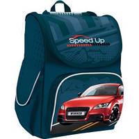 "Рюкзак 503019 ""Speed Up"" 34x26x14см каркасный ранец Smart"
