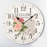 "Настенные часы ""Welcome To Our Home"""