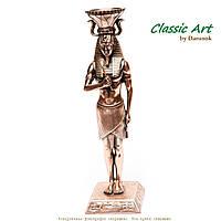 Статуэтка фараона Тутанхамона подсвечник олицетворение мужской силы zS460