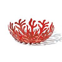 Фруктовница (ваза для фруктов) Mediterraneo Alessi Красная