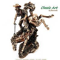 Статуэтка ковбой на лошади TS209