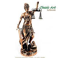 Статуэтка Фемиды богини правосудия в мантии символизирующей беспристрастность TS999