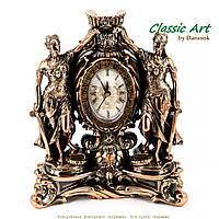 Каминные часы статуэтка Фемида правосудия символ правосудия с мечом TS1403
