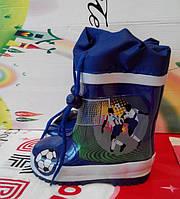 Детские резиновые сапожки для мальчиков
