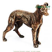 Статуэтка собака на охоте фигурка от Classic Art ES396