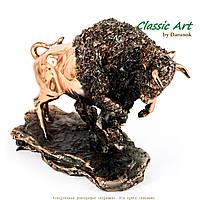 Статуэтка зубр европейский бык символ Беларусии ES372