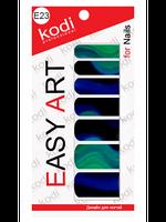 Наклейки для дизайна ногтей Easy Art E23