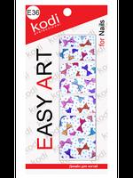 Наклейки для дизайна ногтей Easy Art E36