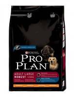 Pro Plan Adult Large Breed Robust Chicken сухой корм для собак крупных пород, с курицей и рисом, 18 кг.