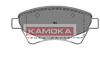Колодка тормозная renault kangoo97'-;megane ii 03'-;scenic ii 03'- перед. (производство KAMOKA ), код запчасти: JQ1013088