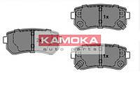 Колодка тормозная hyundai i20 08'-; i30 07'-; ix35 10'-;kia sportage 10'- задн. (производство KAMOKA ), код запчасти: JQ101146