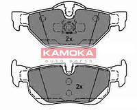 Колодка тормозная bmw 1 (e87) 04'-;3 (e90) 05'- задн. (производство KAMOKA ), код запчасти: JQ1013614