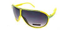 Крутые желтые очки от солнца